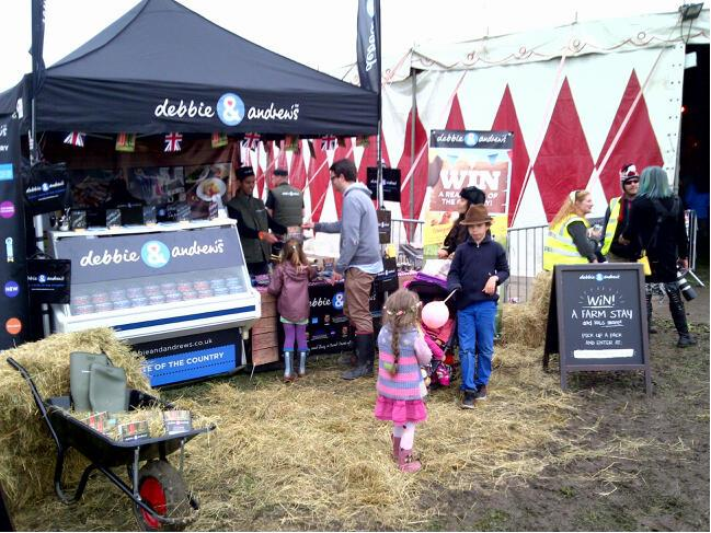 Debbie and Andrews - Experiential Roadshow Sampling at County Shows, Food Festivals Music Events 02